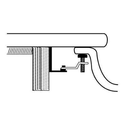 Accessori Fissaggio Lavabo