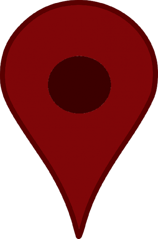 location-pointer-pin-google-map-red